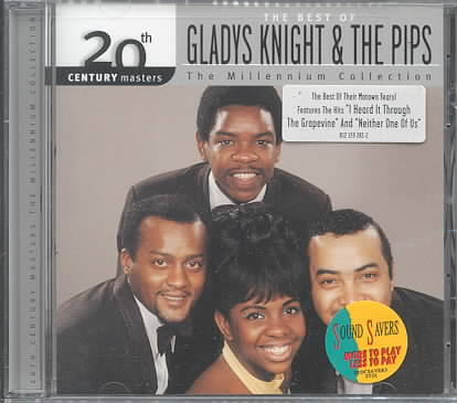 20TH CENTURY MASTERS:MILLENNIUM COLLE BY KNIGHT,GLADYS & PIP (CD)